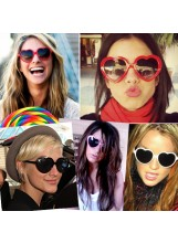 Heart Shaped Sunglasses - Sunglasses - Accessories