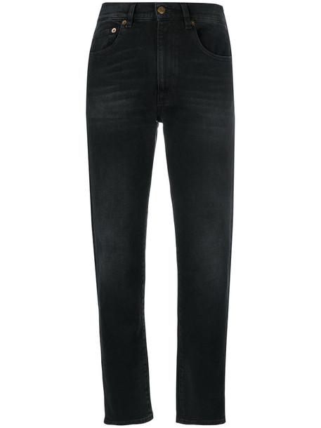 Mauro Grifoni jeans women spandex cotton black