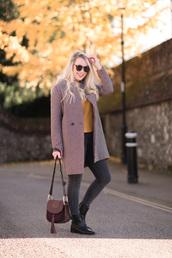 british fashion blog - mediamarmalade,blogger,coat,jeans,sweater,sunglasses,shoes