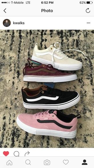 shoes vans low top sneakers