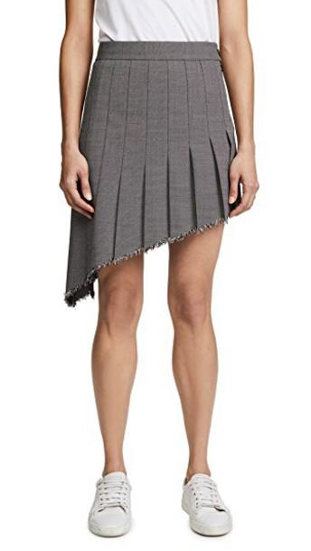 Helmut Lang skirt black grey