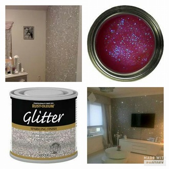 home accessory glitter silver wall decor painting paint print romper
