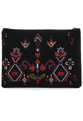 bag,cross-stitch,Trible,embroidered,clutch