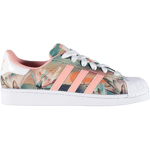 adidas superstar dames licht roze