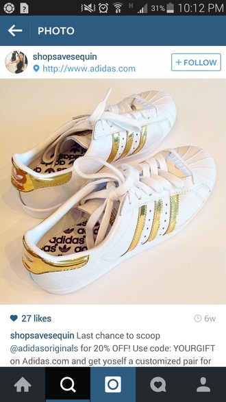 shoes white adidas white gold adidas gold help