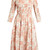 Dorothy square-neck floral-print cotton dress