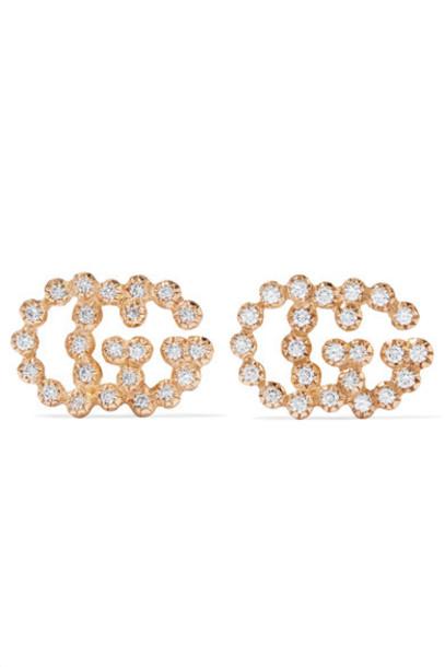 gucci earrings gold jewels