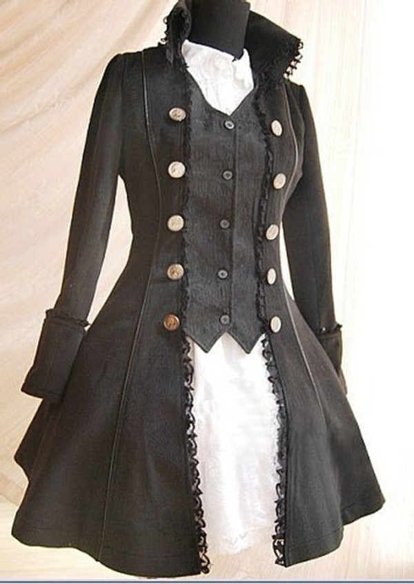 Steampunk Clothing Men Jackets