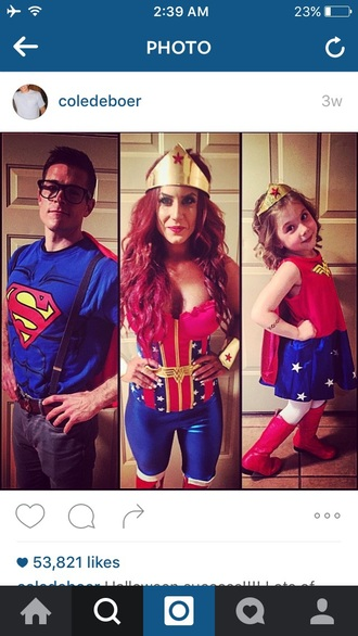 jumpsuit chelsea houska halloween costume wonder woman
