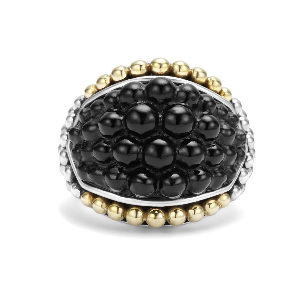 onyx caviar ring black caviar lagos jewelry