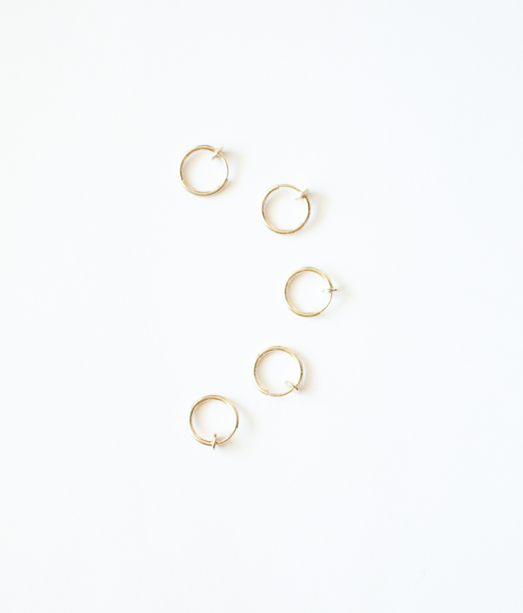 Retract ear cuff set