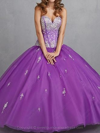 dress prom dress ball gown dress ball gown purple dress purple bejeweled bejeweled dress jewels sweetheart dresses sweetheart dress sweetheart neckline princess dress