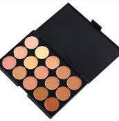 make-up,contour,cream,contour cream,15 colors,contour cream kit,makeup palette,natural makeup look