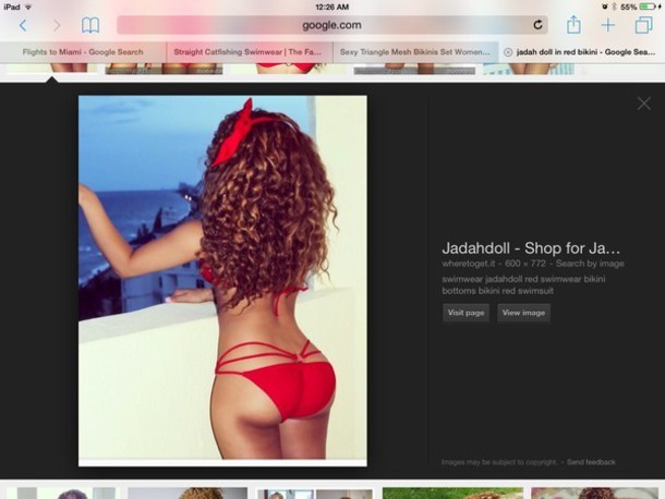 swimwear judah doll red