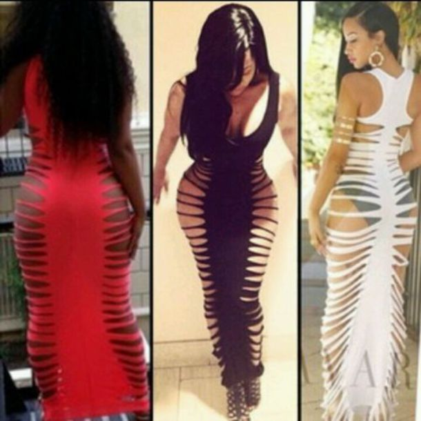 Long dress cover up 62
