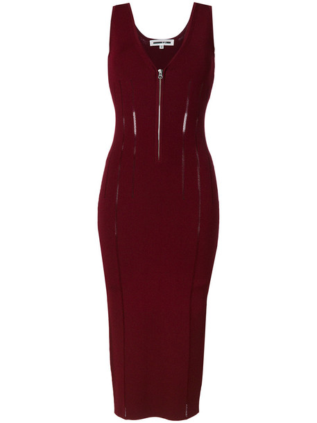 McQ Alexander McQueen dress women red