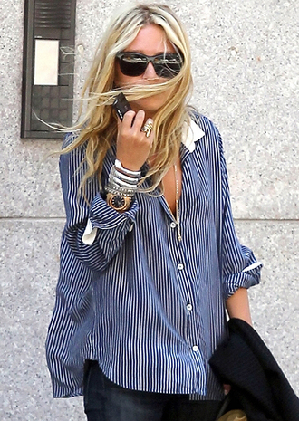 olsen ring watch bracelets olsen sisters blue shirt shirt blue boys