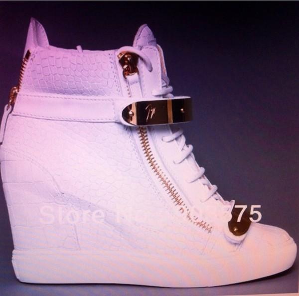 shoes hakken wedge heels