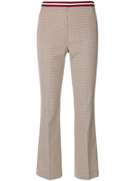 Dorothee Schumacher cropped women spandex nude cotton pants