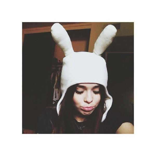 adventure time fionna beanie acacia brinley acacia brinley tumblr girl bunny