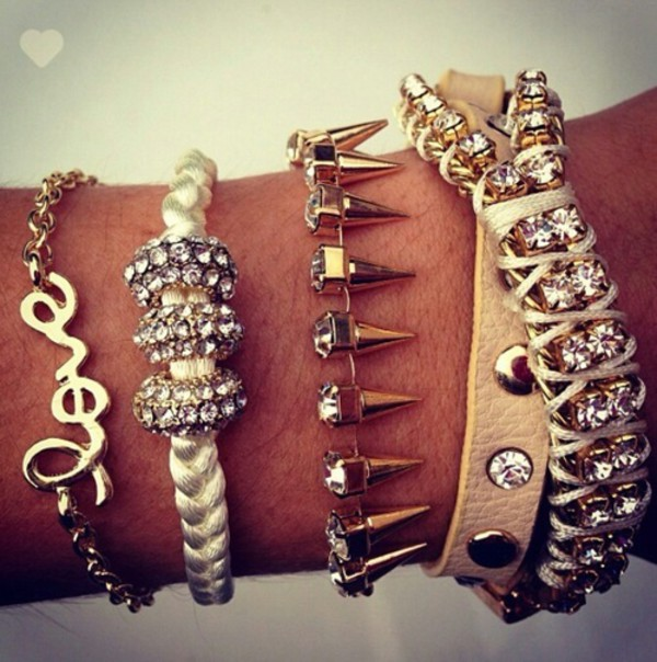 jewels bracelets jewelry arm candy