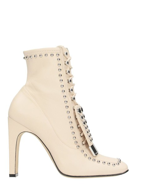 Sergio Rossi beige shoes