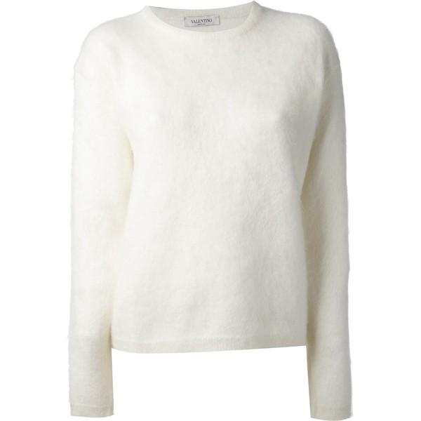 VALENTINO crew neck sweater - Polyvore