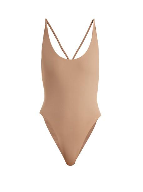 DOS GARDENIAS nude swimwear