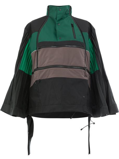 Facetasm jacket pleated women green