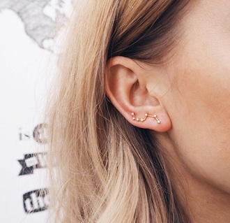 jewels tumblr jewellery ear piercings stud earrings elegant earrings jewelry earrings earrings gold earrings