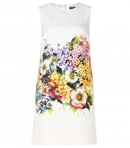 mytheresa.com -  Brocade shift dress  - Short - Dresses - Clothing - Luxury Fashion for Women / Designer clothing, shoes, bags