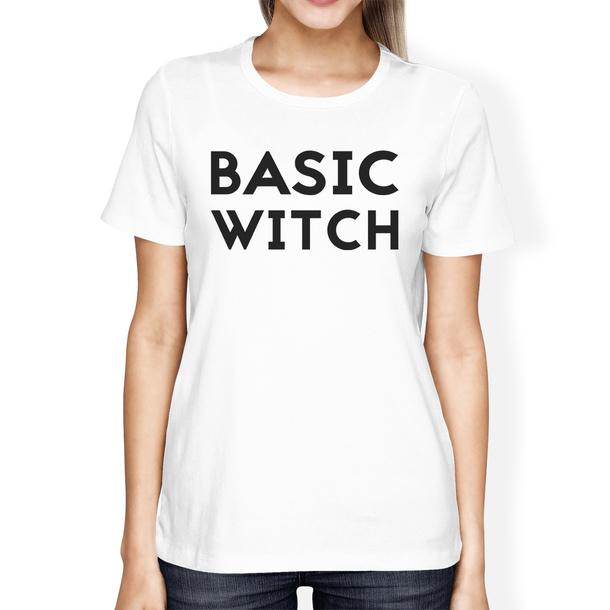 6ca36729 t-shirt, witch, basic witch, halloween, halloween shirt, funny shirt ...