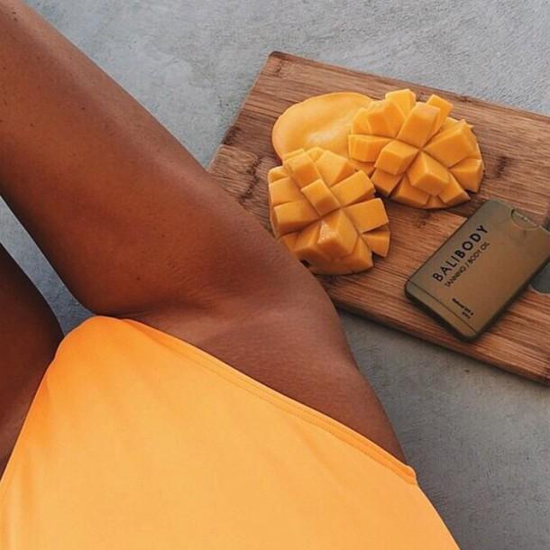 swimwear swimwear swimwear summer orange swimwear swimwear orange