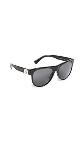 VERSACE rock sunglasses black grey
