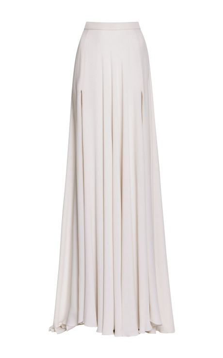 Jasmine Silk Georgette Maxi Skirt by Elie Saab - Moda Operandi