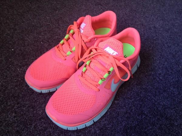 shoes nike nike free run neon pink nike free run pink nike free run 3.0 v5 womens