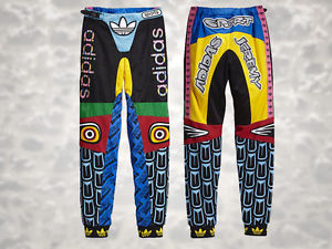 Jeremy Scott Adidas Original ObyO JS Eagle Totem Moto Pants sz L | eBay