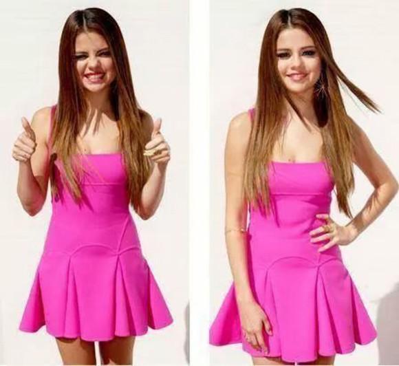 pink dress skater dress wonderful dress