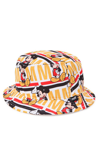 sway mickey mouse bucket hat printed bucket hat
