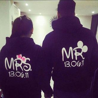 jacket couple sweaters mr and mrs sweatshirts mickey mouse