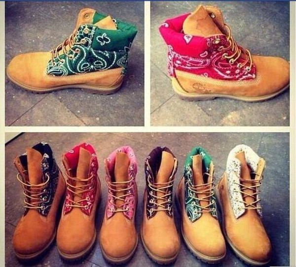 shoes timberlands bandana bandana timberlands timberlands boots pnik purple contruction timbs custom timberlands