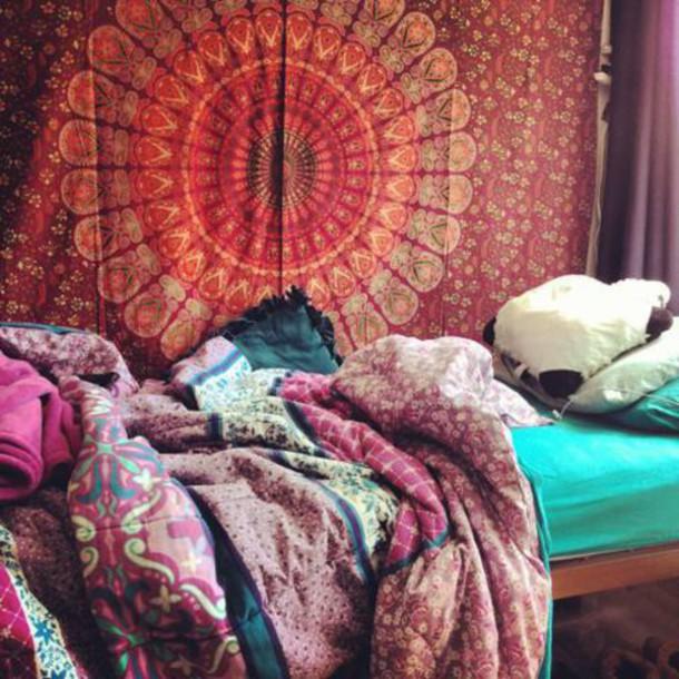 Dress: boho, blanket, blankets, home decor, hipster ...