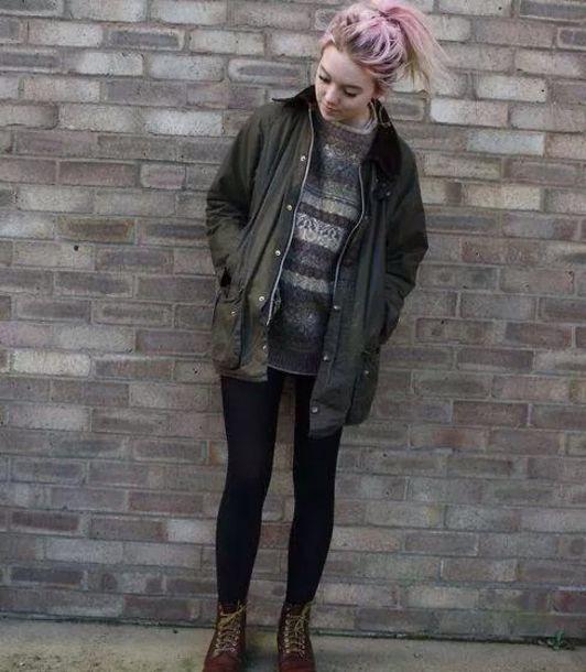 jacket, grunge, sweater, coat, soft grunge, hipster, indie ...