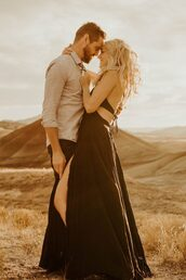 dress,black flowy maxi dress,black dress,maxi dress,tie back,halter neck,flowy