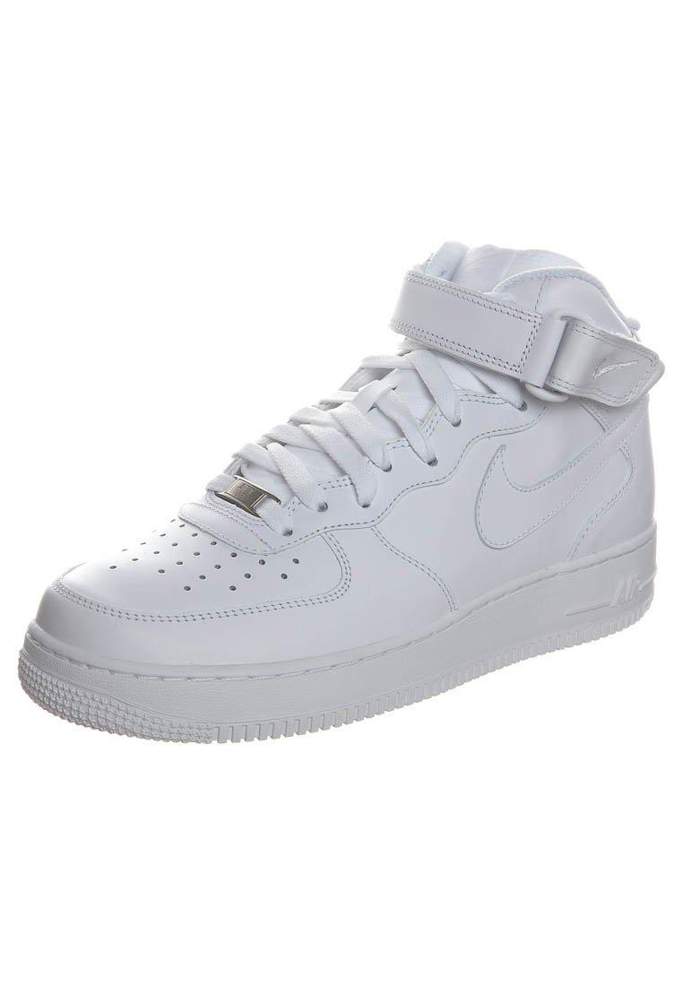 Nike Sportswear AIR FORCE 1 MID '07 - Sneakers high - hvid - Zalando.dk