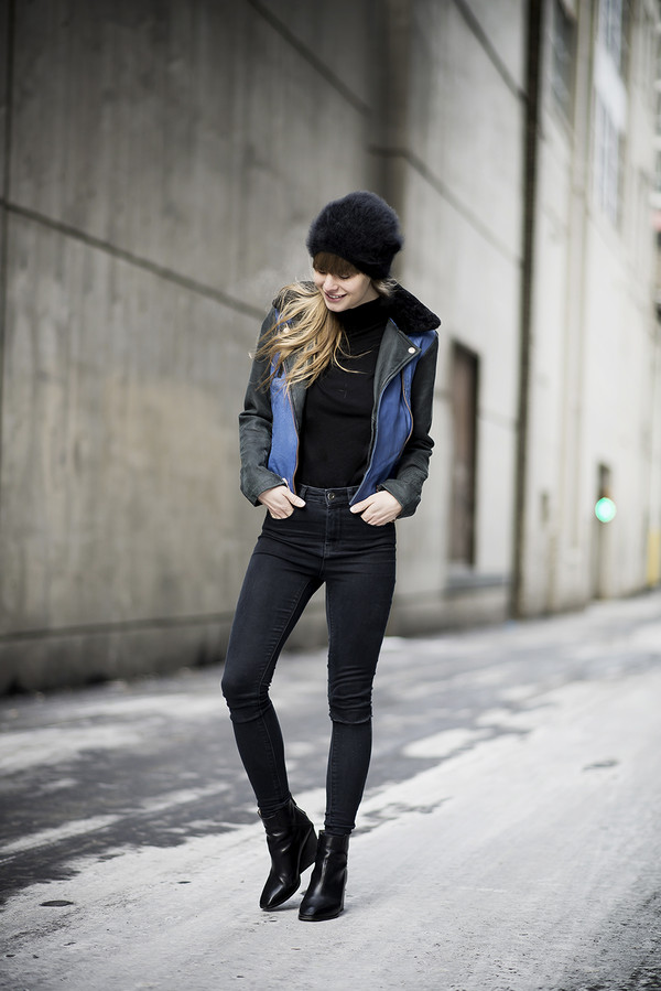 just another me jacket sweater t-shirt jeans shoes jewels hat