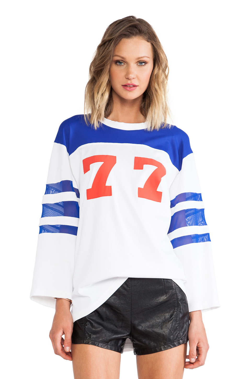 MINIMALE ANIMALE Johnny Utah Tee Jersey in Latigo Blue | REVOLVE