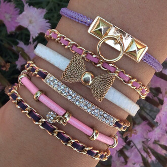 jewels pink jewelry fashion girly purple trends trendy cute wow women yes