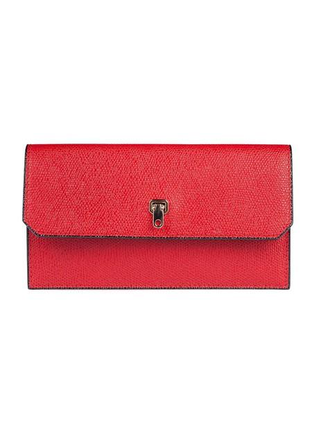 Valextra clutch red bag