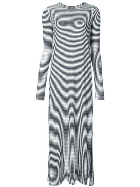 FRANK & EILEEN dress maxi dress maxi women cotton grey